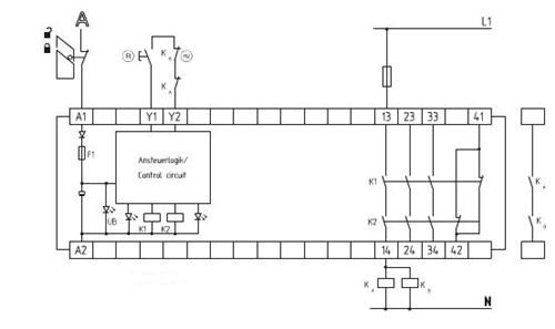(h2)= 反馈回路       监控电路可以控制识别电路断线和对地
